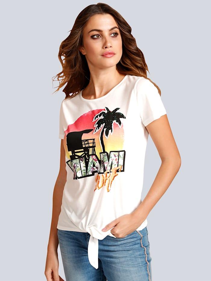 Shirt mit sommerlichem Print