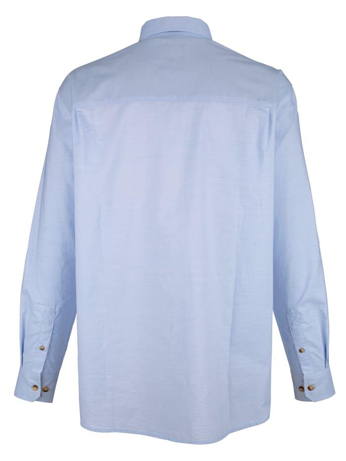 Chemise avec broderies devant