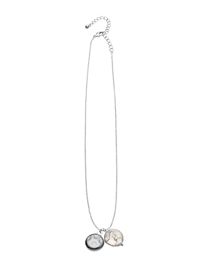 Helmikaulakoru, Hopeanvärinen