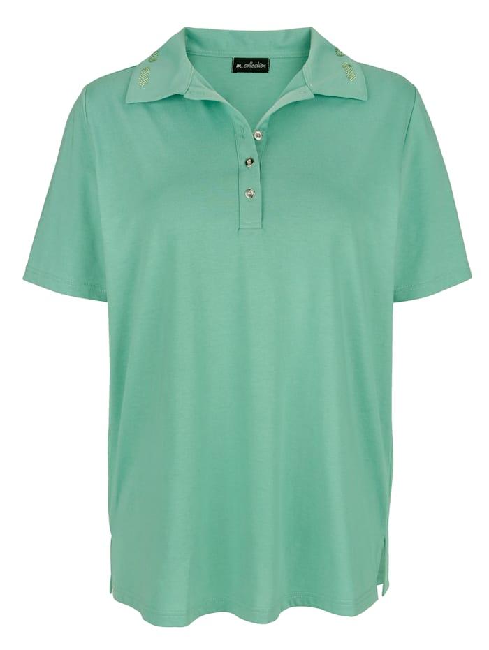 Poloshirt met mooie kraag