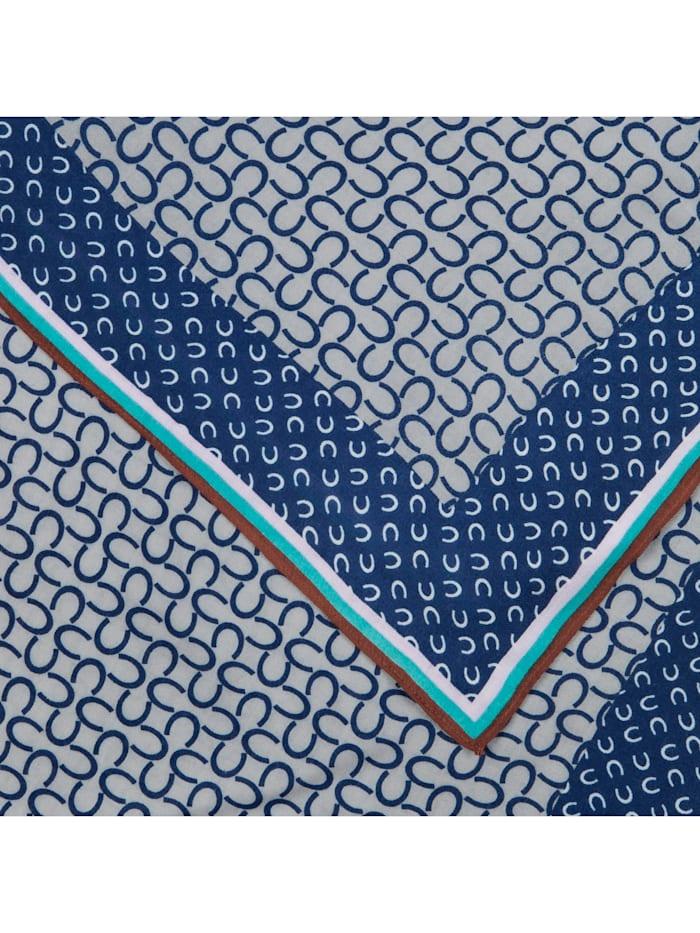 Logo-Schal aus Viskose