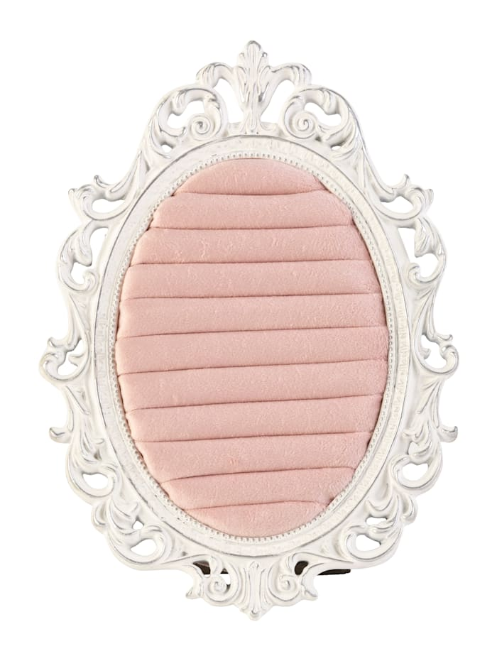 MARAVILLA Ringhalter, Rosé/Creme-Weiß/Silberfarben