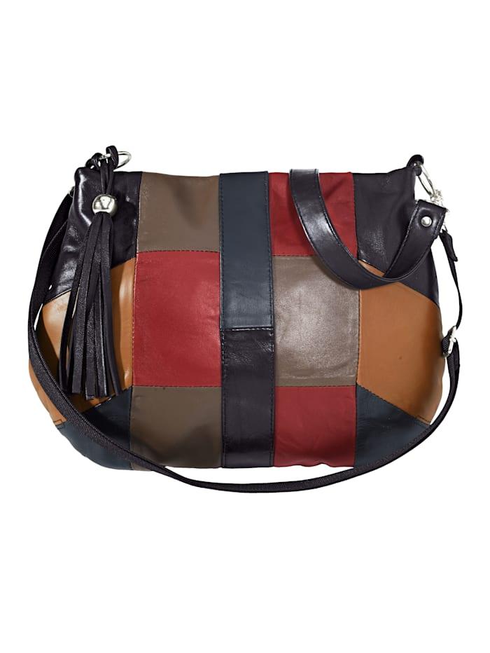 Handtas in patchworklook
