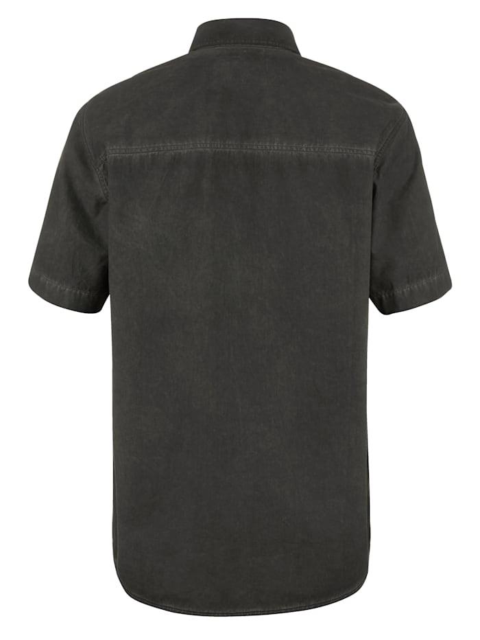 Skjorta i tvättad look