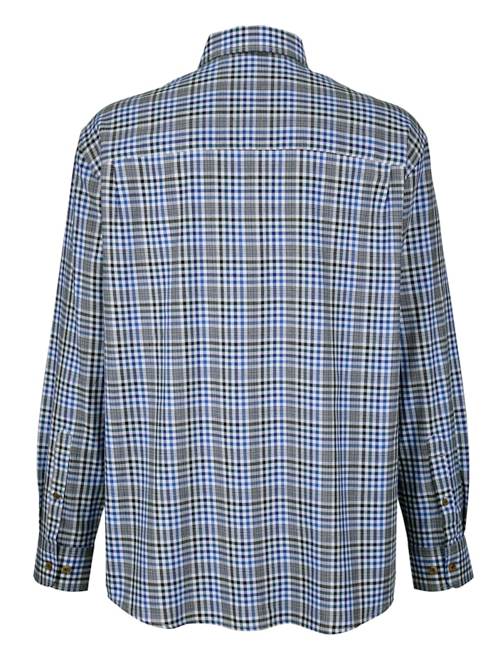 Overhemd met handige borstzak