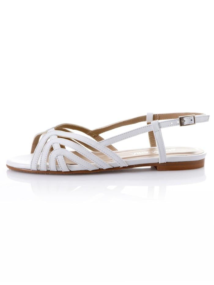 Sandalette aus weichem Leder