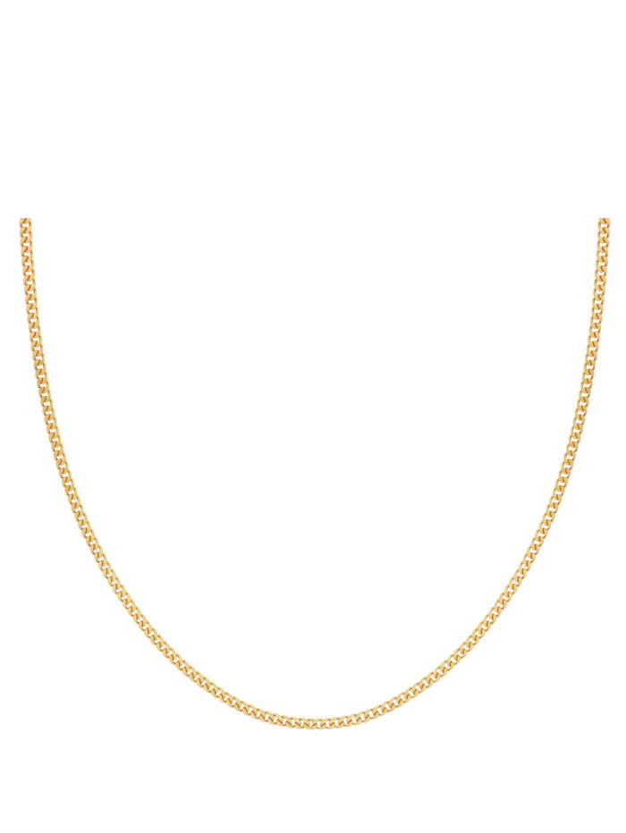 Grazielli Halsband i pansarlänk, Guldfärgad