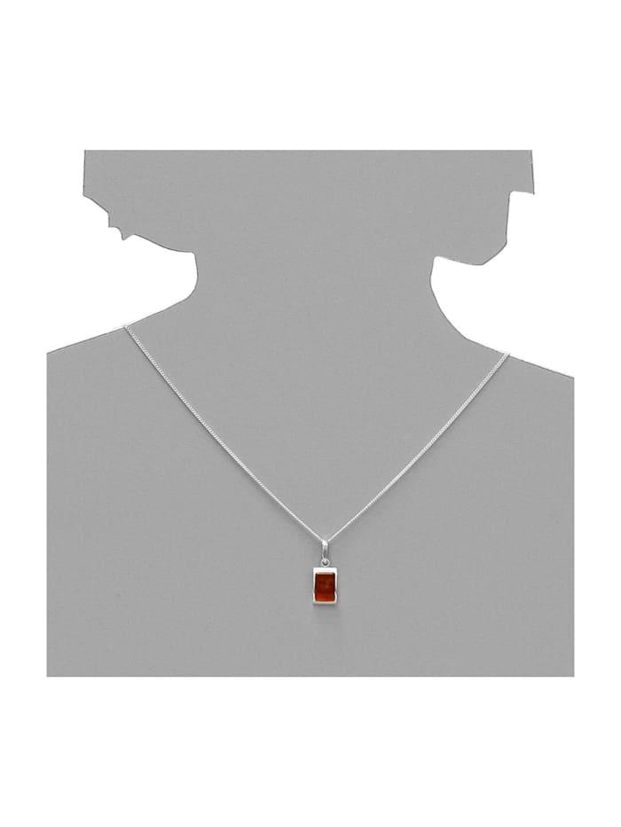 Anhänger - Stefania - Silber 925/000 - Bernstein