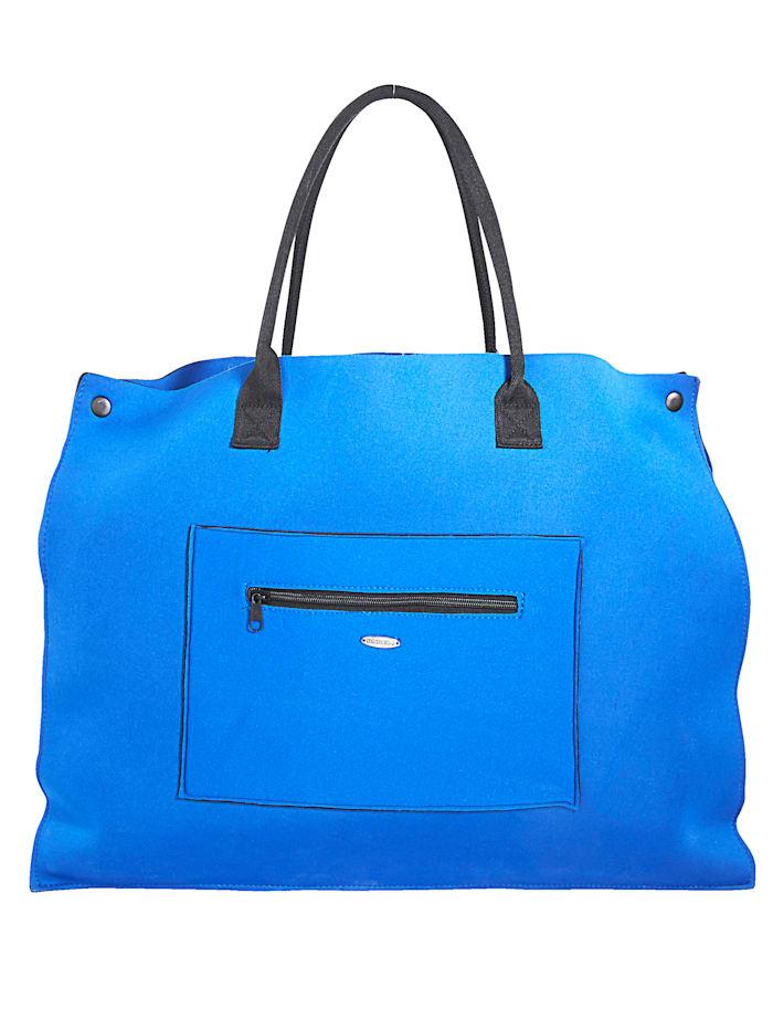Sunflair Strandtasche aus Neopren, Blau