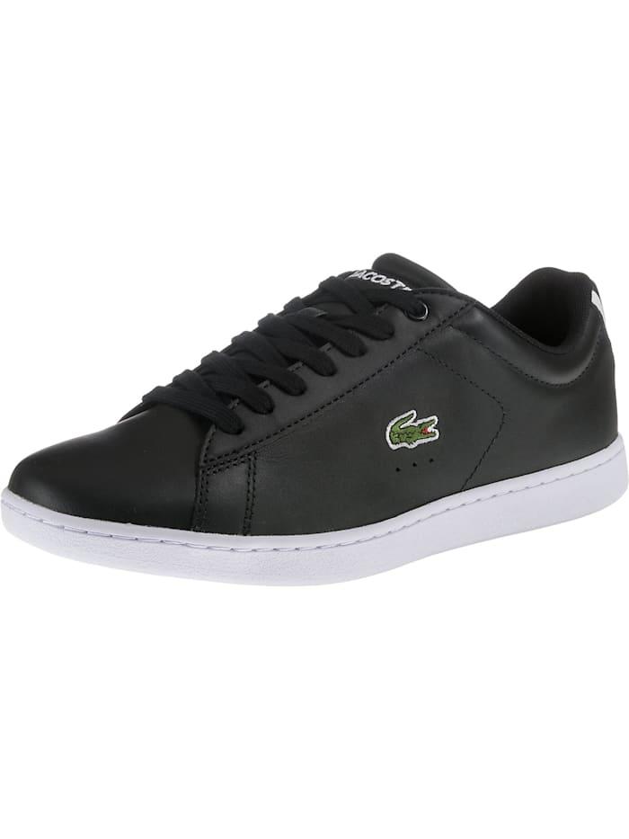 LACOSTE Carnaby Sneakers Low, schwarz