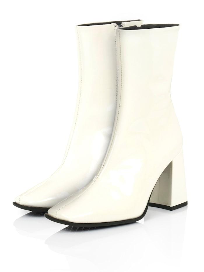 SIENNA Stiefelette, Weiß