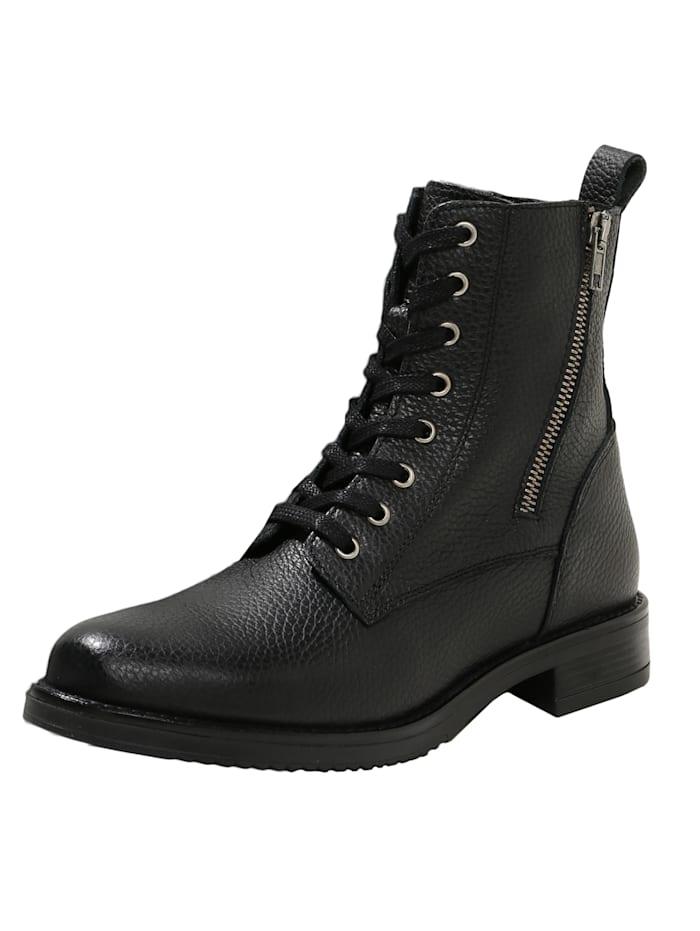 COX Schnürboots Schnür-Boots, schwarz