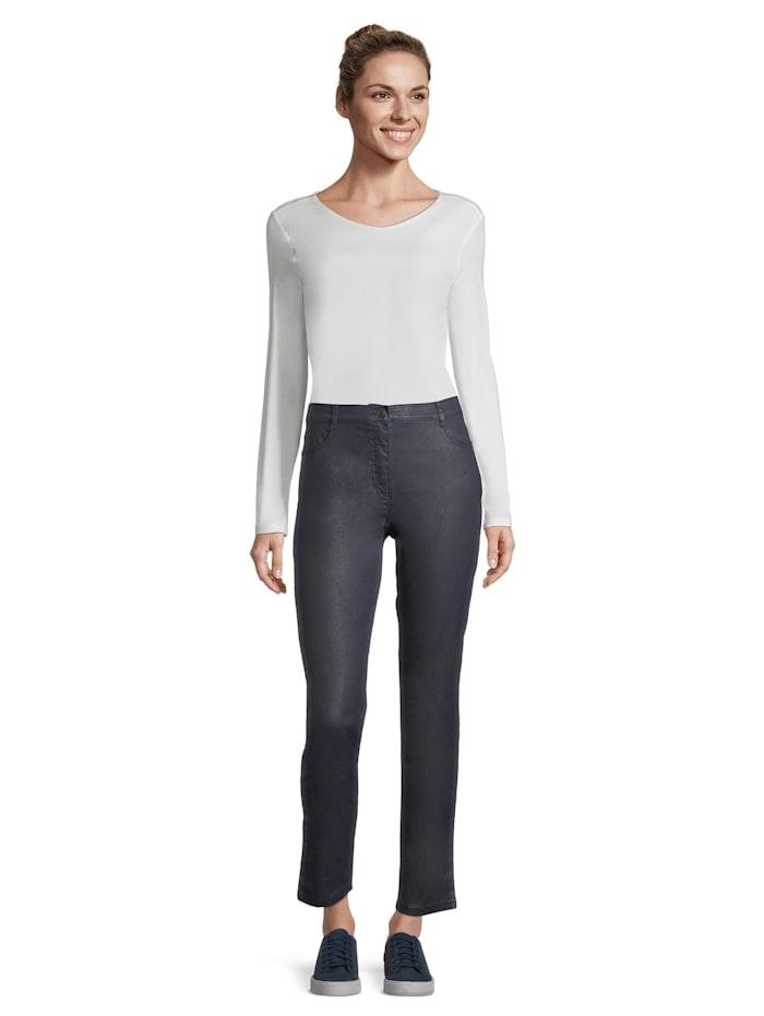 Betty Barclay Basic-Hose mit aufgesetzten Taschen, dunkelblau