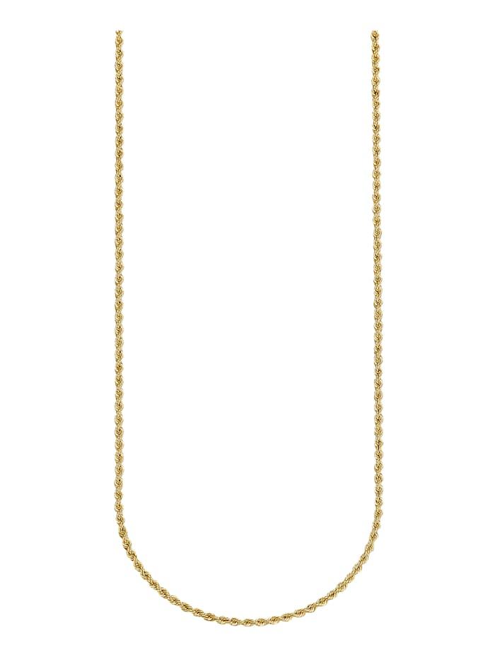 Amara Highlights Kordelkette in Gelbgold 750, Gelbgoldfarben
