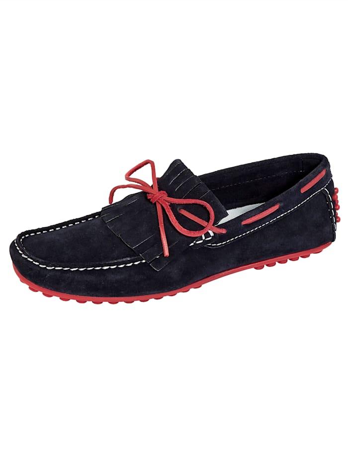 BABISTA Chaussures bateau de style marin, Marine