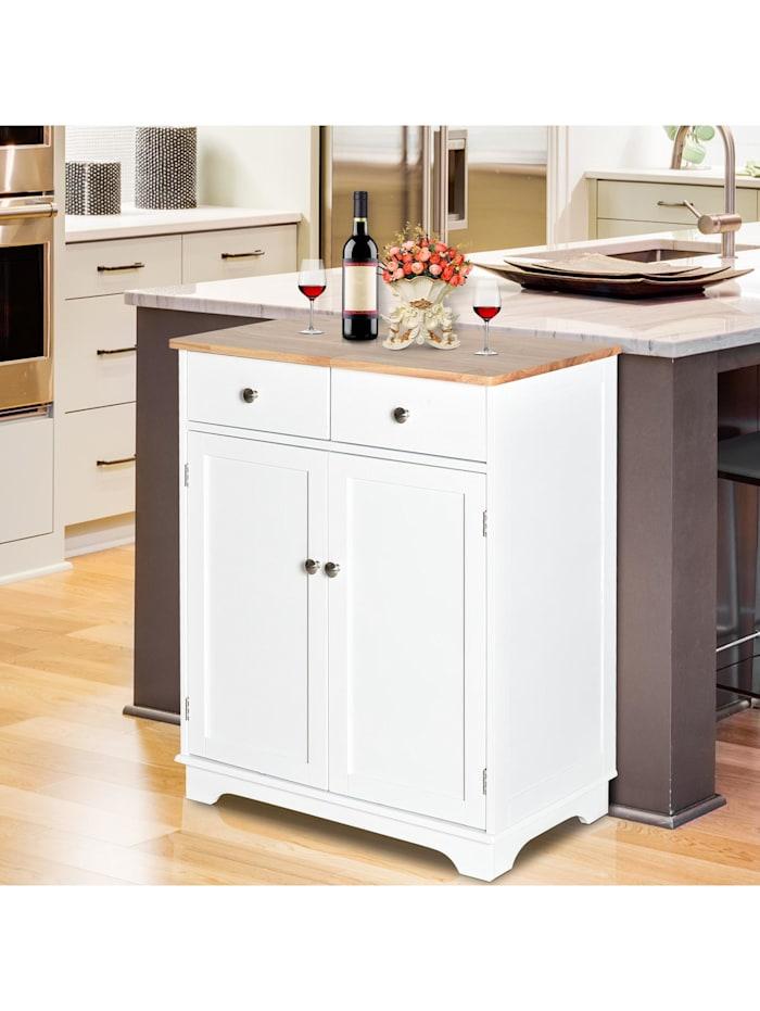 Küchenschrank mit zwei Schubladen