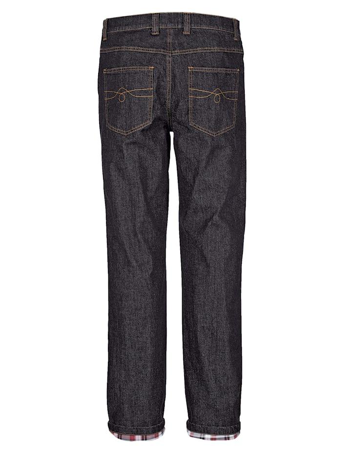 Fodrade jeans – varma och sköna