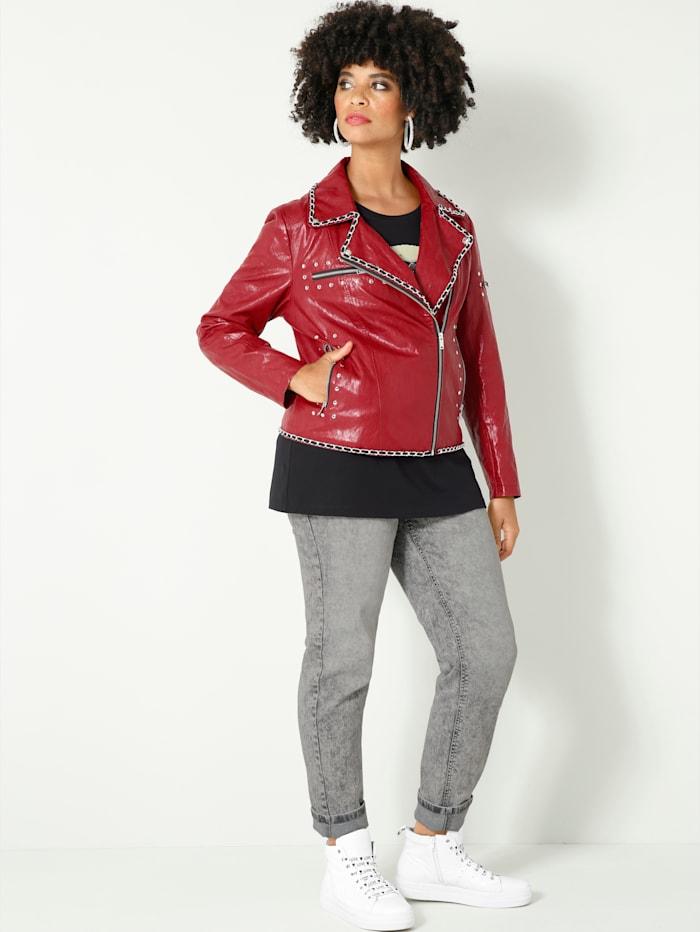 Angel of Style Jeans Carla Slim Fit, Grijs