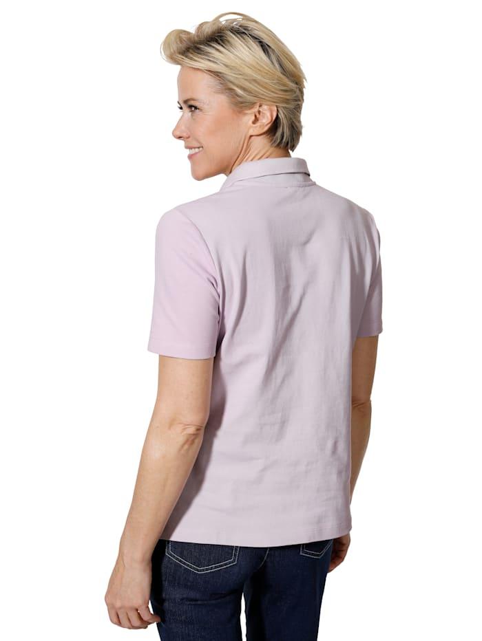 Poloshirt in Pimabaumwoll-Picquee