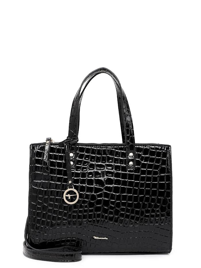 Tamaris Shopper Diana, black kroko 198