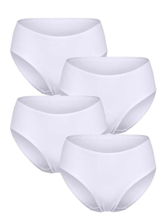 Taillenslip aus Organic Cotton 4er Pack