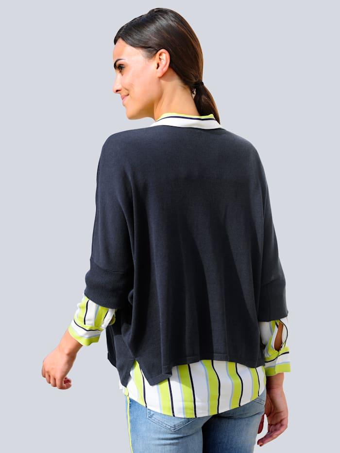 Pullover in lässiger Oversized-Form