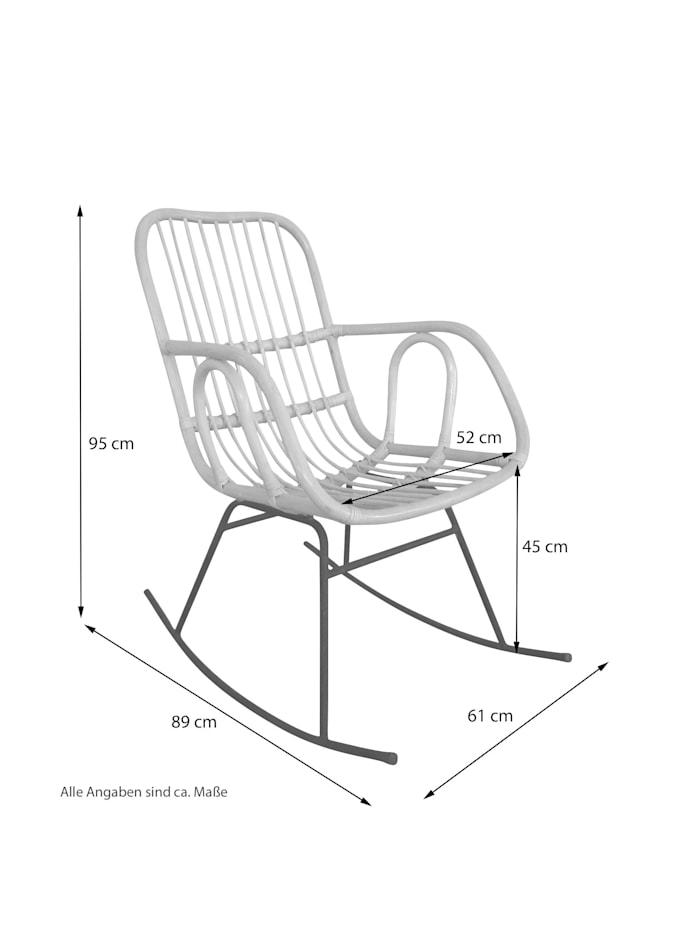 Möbel-Direkt-Online Schaukelsessel Astrid, braun