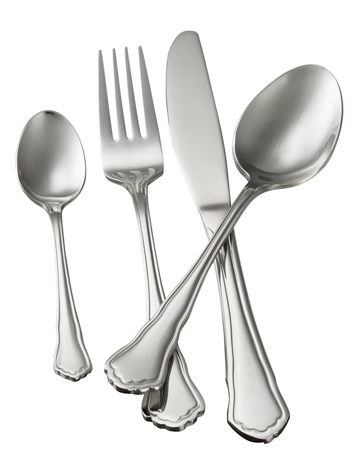 Mulex Bestickset i 60 delar, silverfärgad