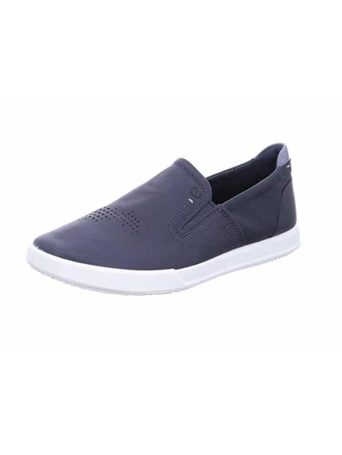 Ecco Slipper, dunkel-blau