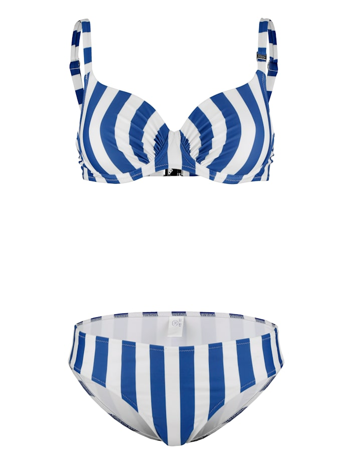 Rösch Bikini met spacercups, Blauw