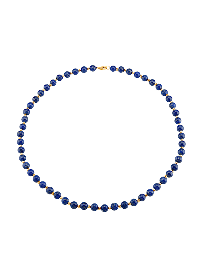 Collier, Bleu