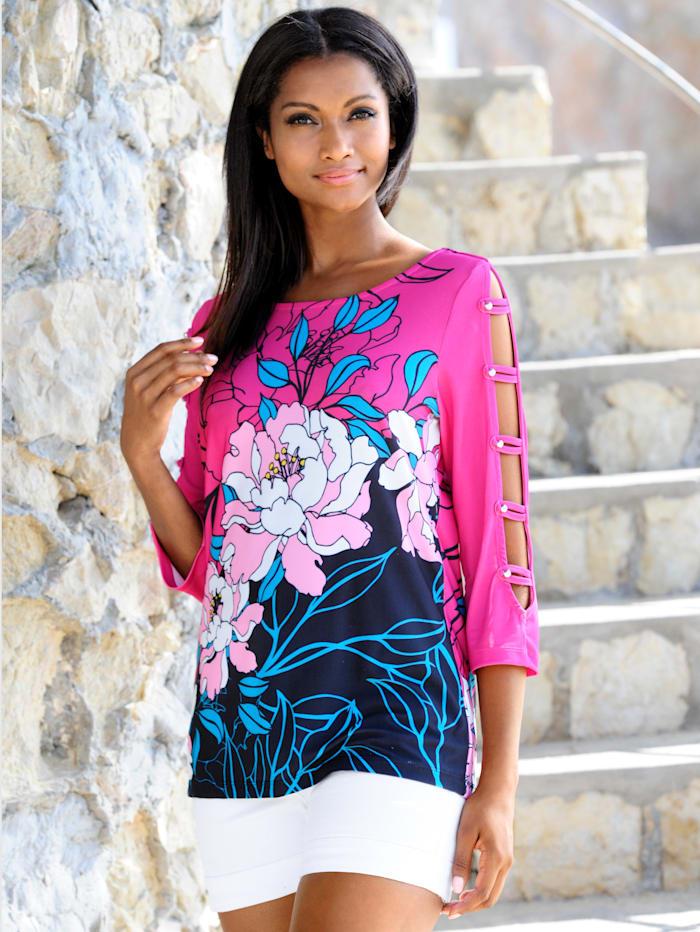 Strandshirt mit halboffenem Arm