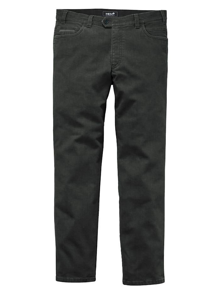 Men Plus Swing-Pocket Jeans Spezialschnitt, Dark grey