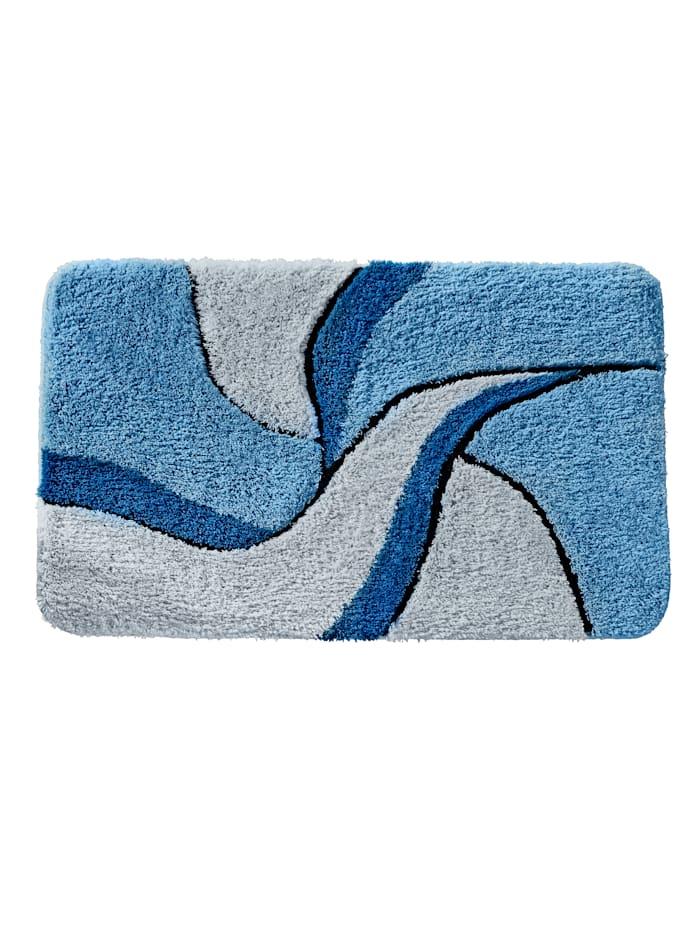 Webschatz Bademattenserie 'Malta', Blau