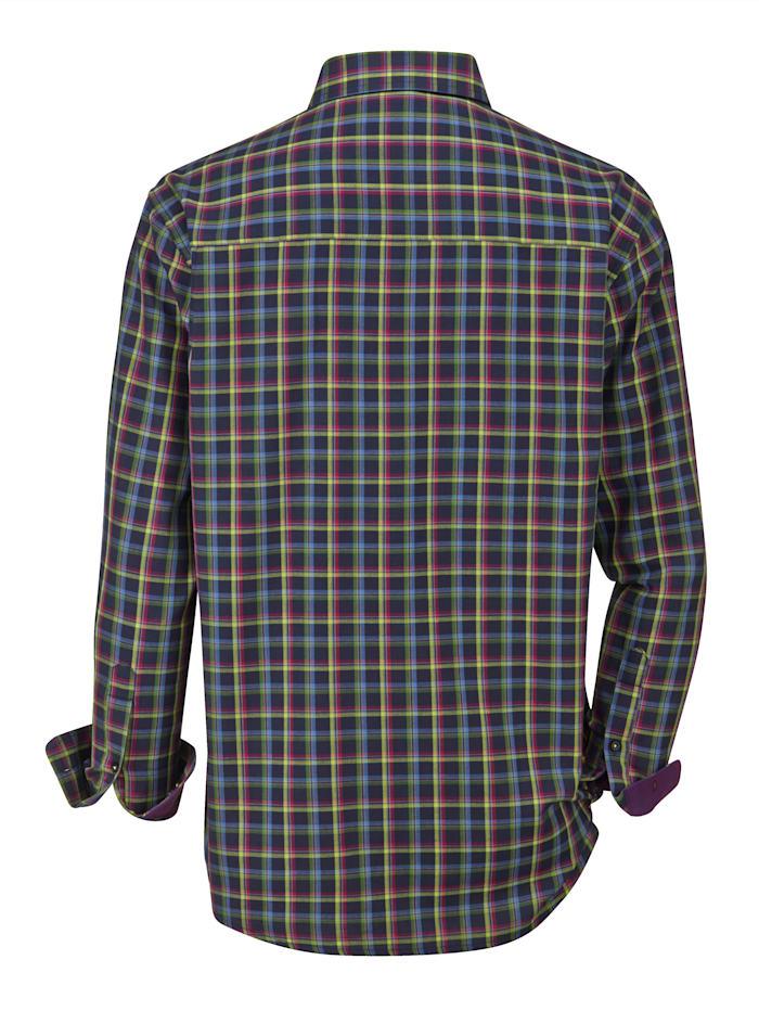 Overhemd in trendy kleurencombinatie