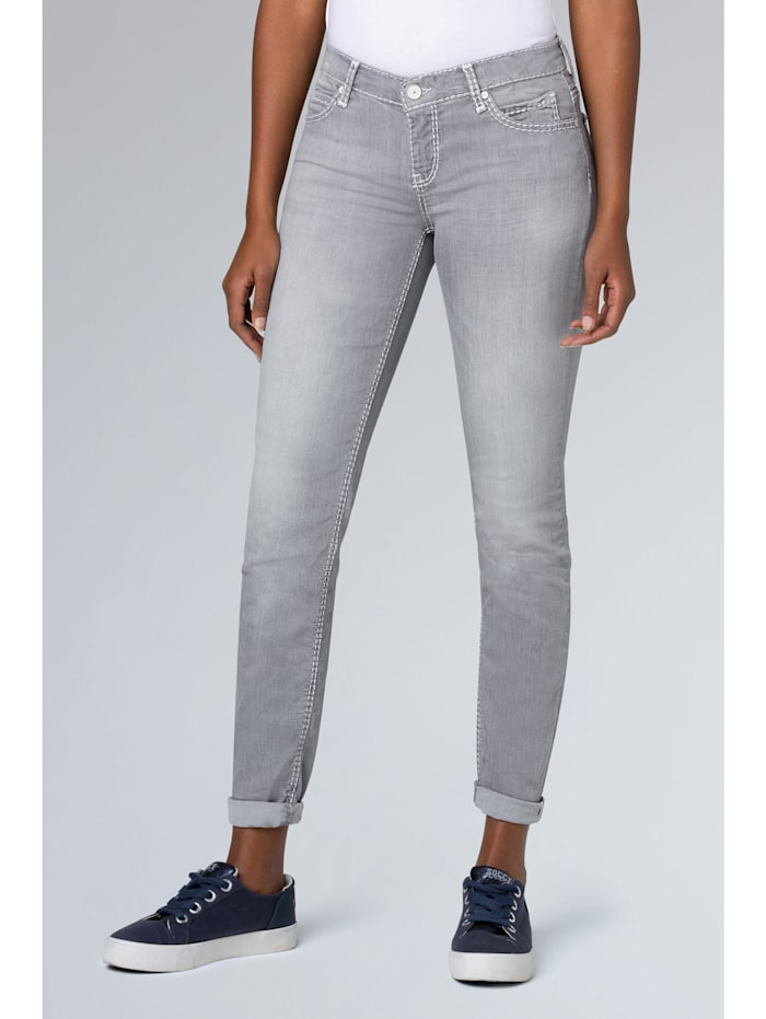Slim Fit Jeans HE:DI in Grey Used