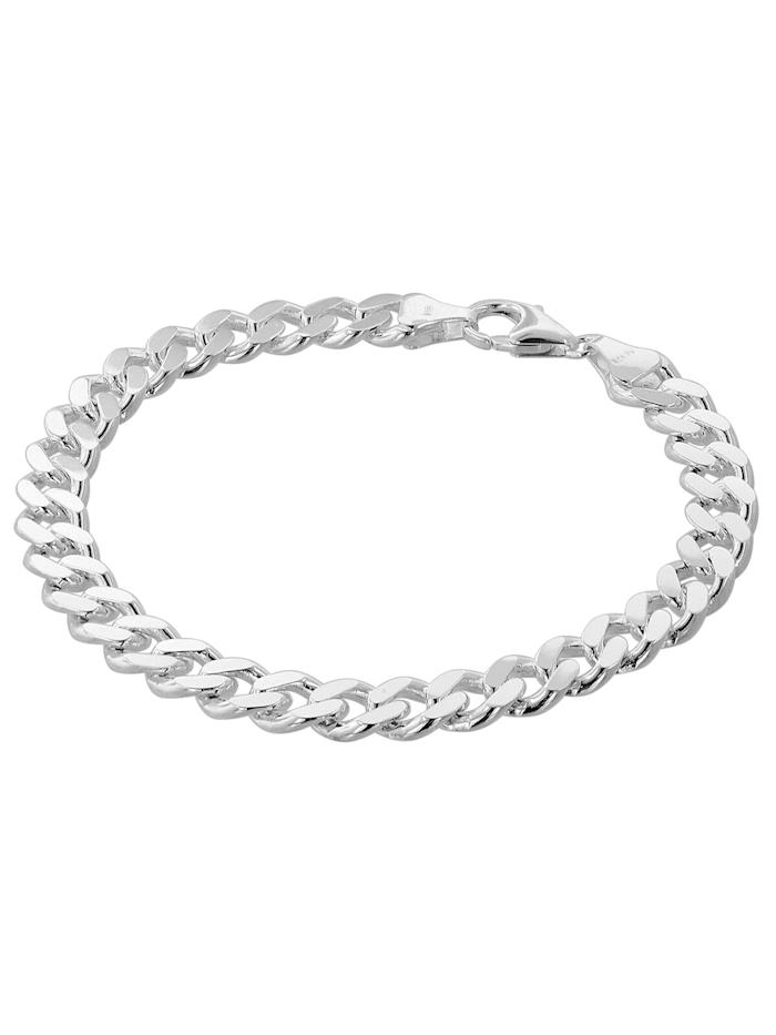 Armband für Männer 925 Silber Panzerkette Massiv Breite 8,2 mm