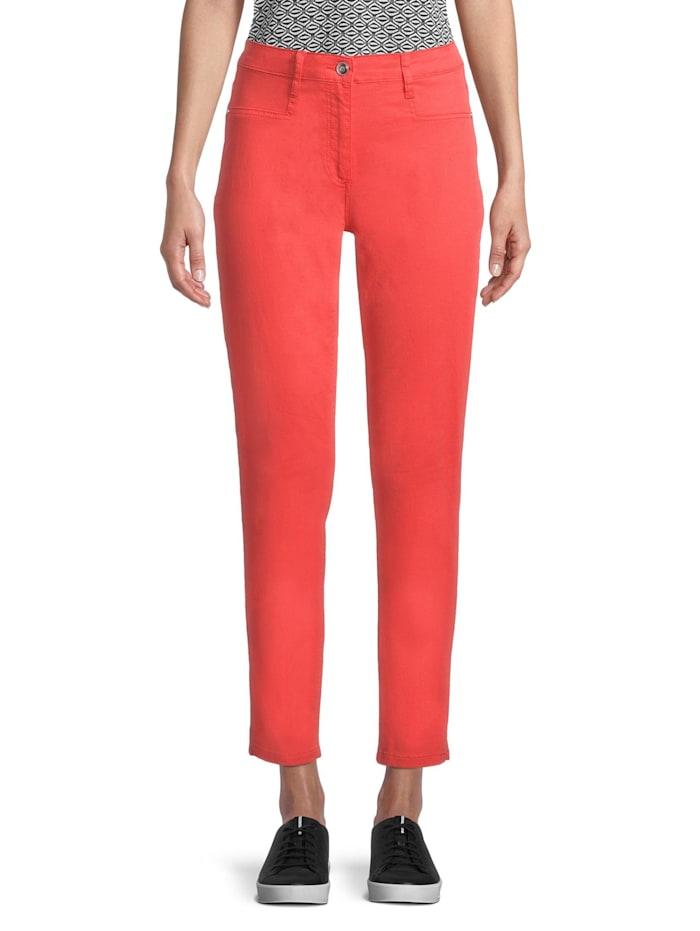 Betty Barclay Basic-Hose mit aufgesetzten Taschen, Rot