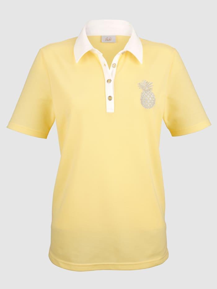 Taitekauluksinen paita