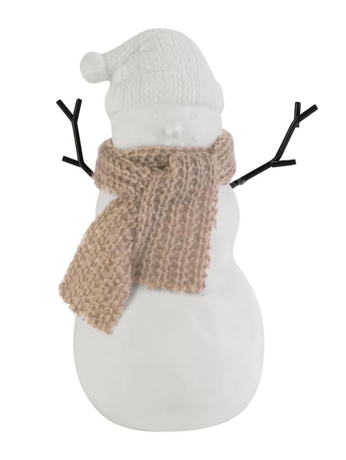 IMPRESSIONEN living Bonhomme de neige décoratif, Blanc