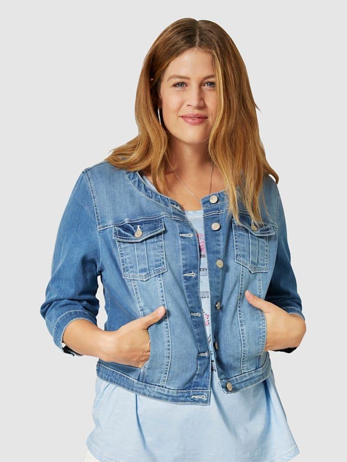 Kort jeansjacka