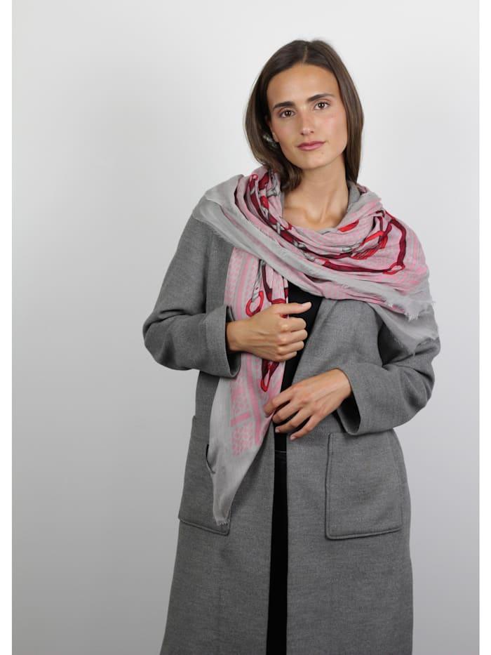 XL-Tuch aus Modal mit klassischem Foulard-Print