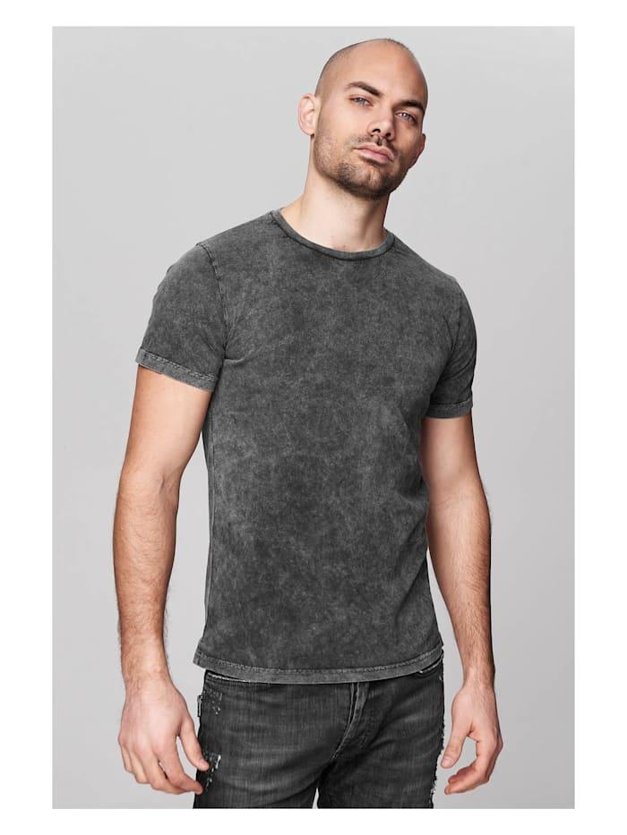 trueprodigy T-Shirt Seth in schlichtem Design, 0403-Anthracite