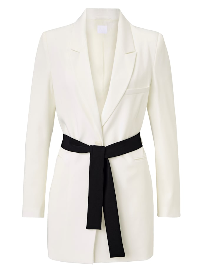 REKEN MAAR Blazer, Off-white