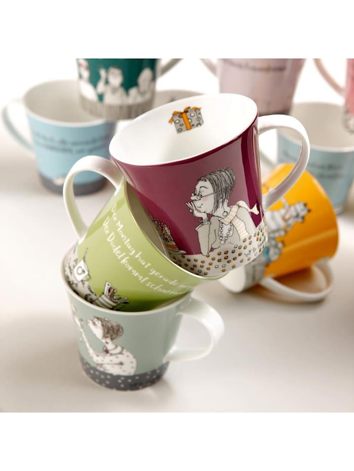 Goebel Coffee-/Tea Mug Barbara Freundlieb - Feine Kerle