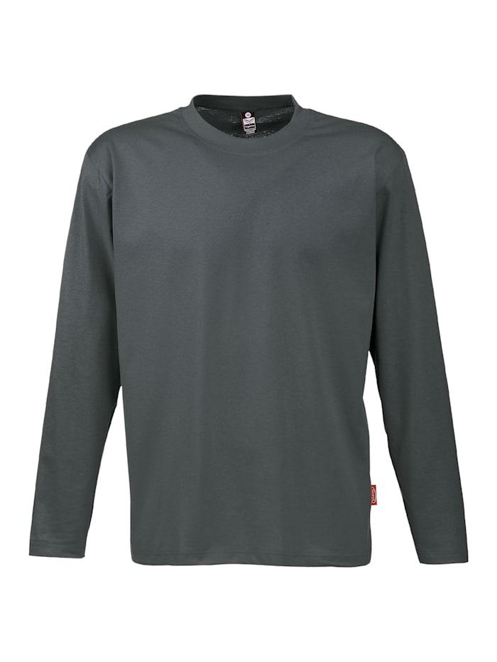 Herren Langarmshirt aus 100% Baumwolle