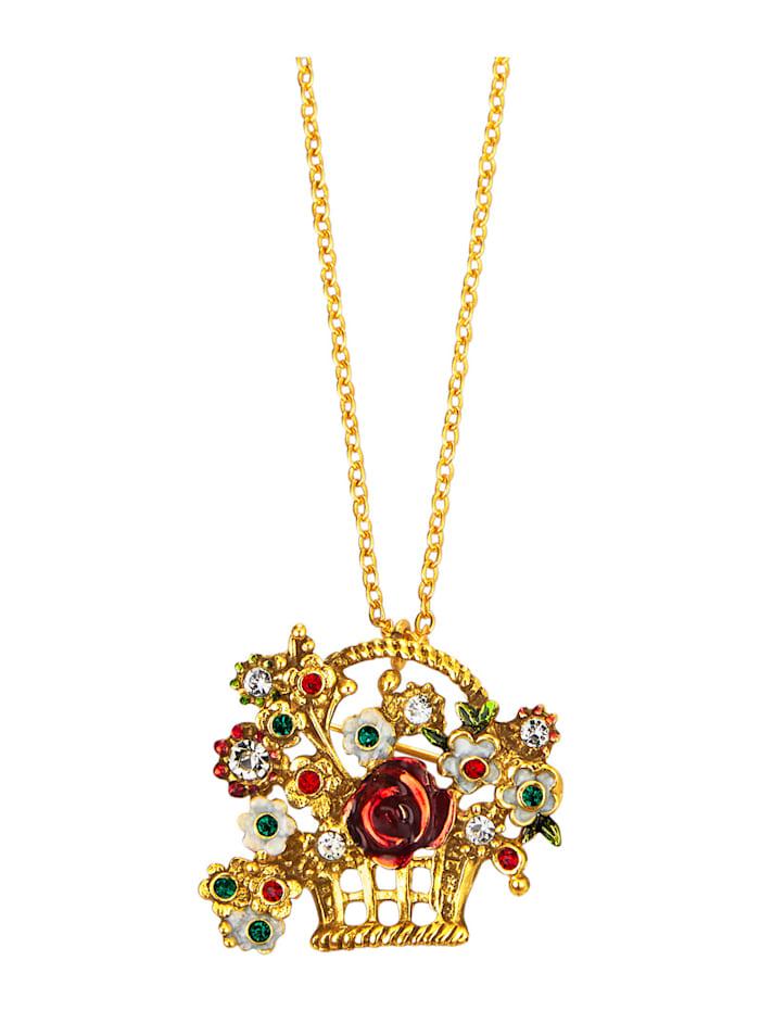 Golden Style Hanger met ketting, Geel