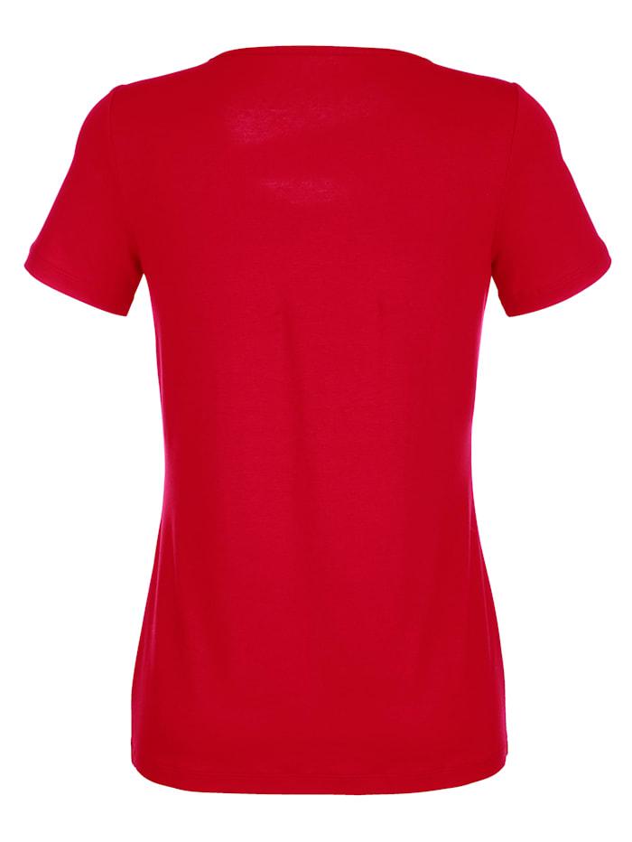 Shirt mit modischem Ausschnitt