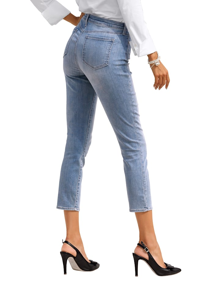 Jeans met shaping effect