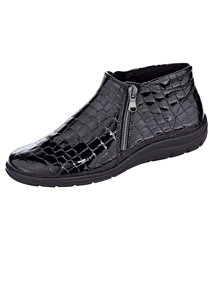 Naturläufer Ankle boots with a classic design, Black
